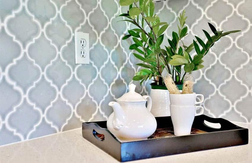 arabesque tiles design ideas