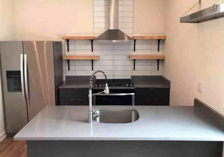 DIY open rekken keuken