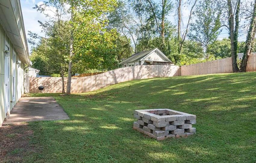 Cinder Block Fire Pit (DIY Design Ideas) - Designing Idea on Cinder Block Fireplace Diy id=20119