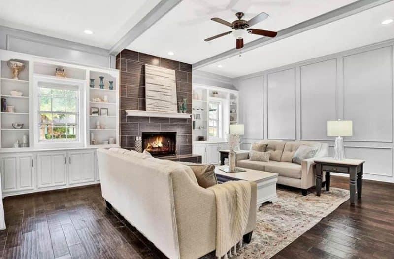 Best Paint Color For Living Room With Dark Floors Novocom Top