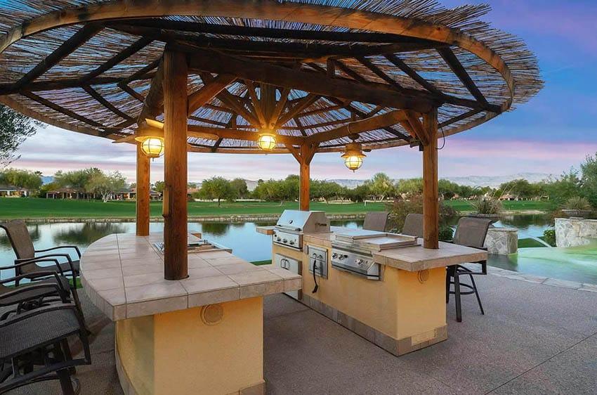 33 Amazing Backyard Palapa Ideas - Designing Idea on Palapa Bar Backyard id=95493