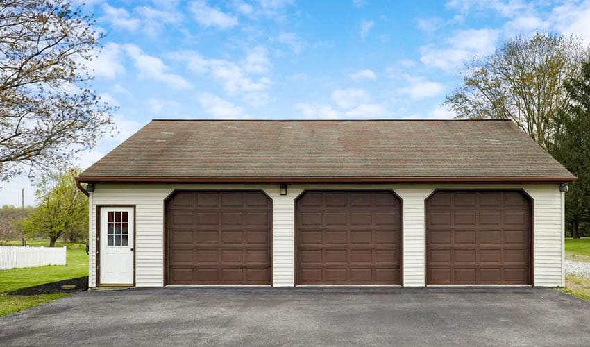 Cost To Build A Garage 1 2 3 Car Price Guide Designing Idea