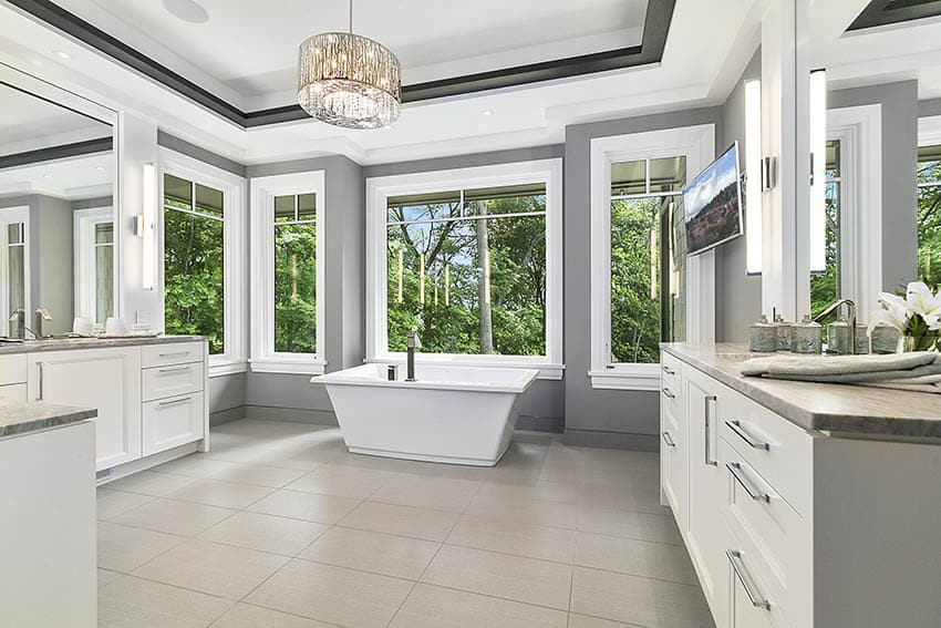 bathroom paint colors with beige tile