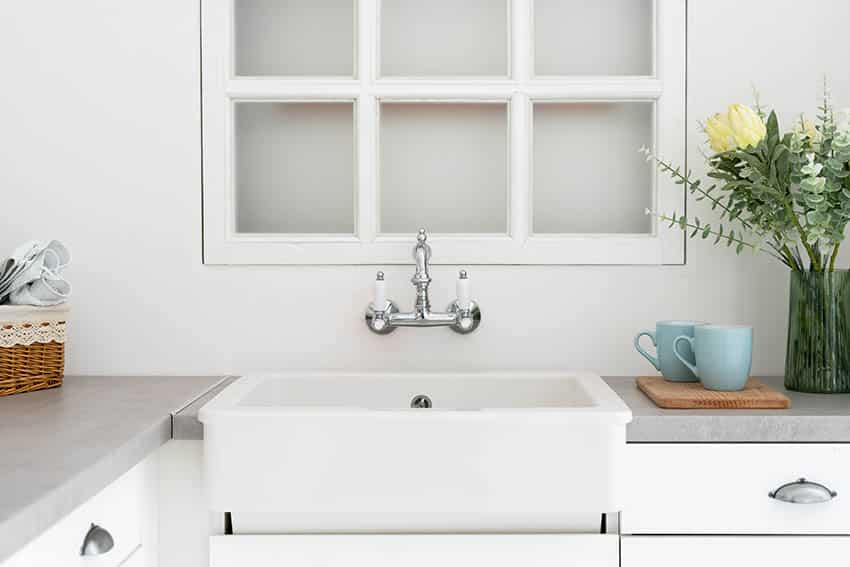 wall mounted faucets types for kitchen