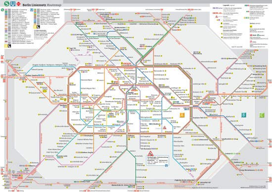 berlin s bahn map