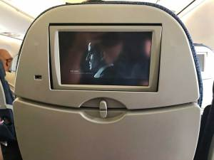 TV's on all seats