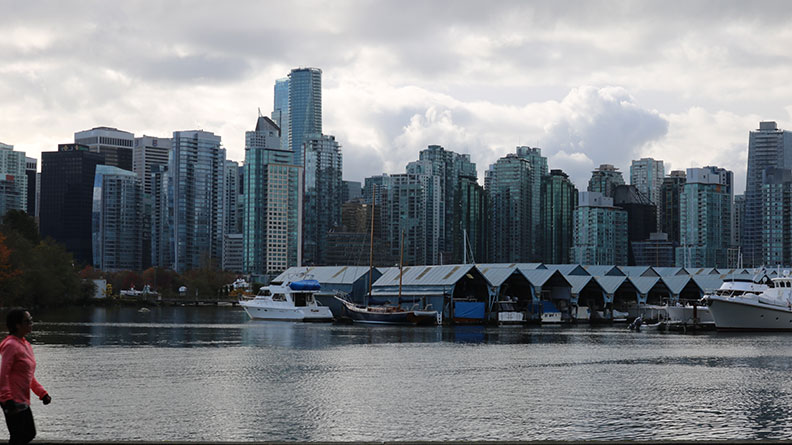 vancouver view from Stanley Park