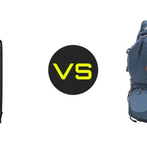 Roller bag vs backpack