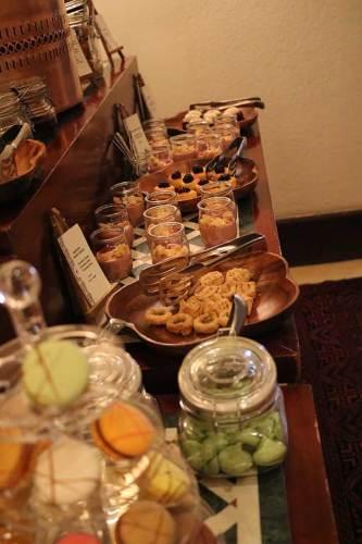 High tea Al Maha resort