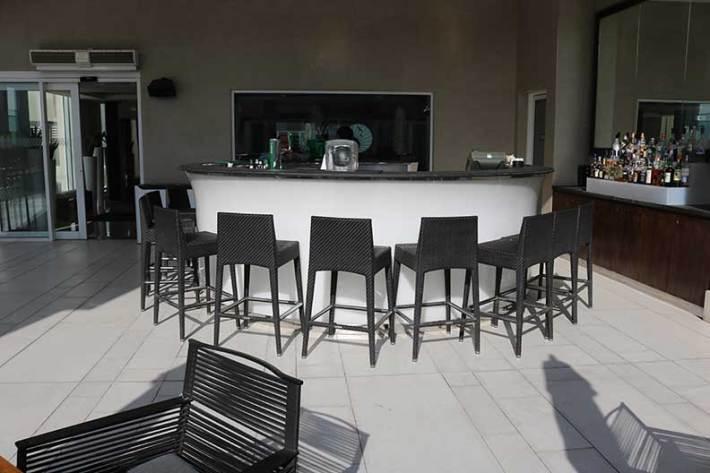 The rooftop bar sheraton grand dubai
