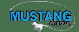 Logo for Mustang PC Repair in San Antonio, TX