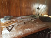 The former drafting table