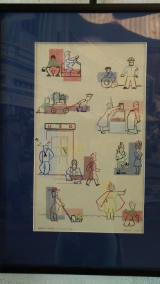 WWII poster about women's wartime roles.