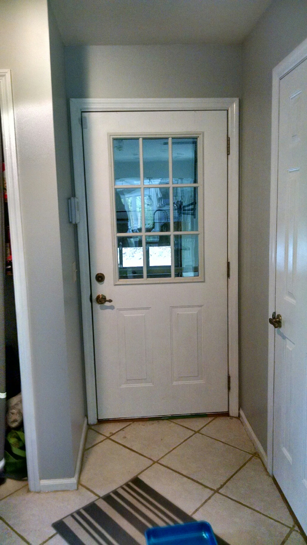 How To Paint Your Doors Black Diy Door Before And After