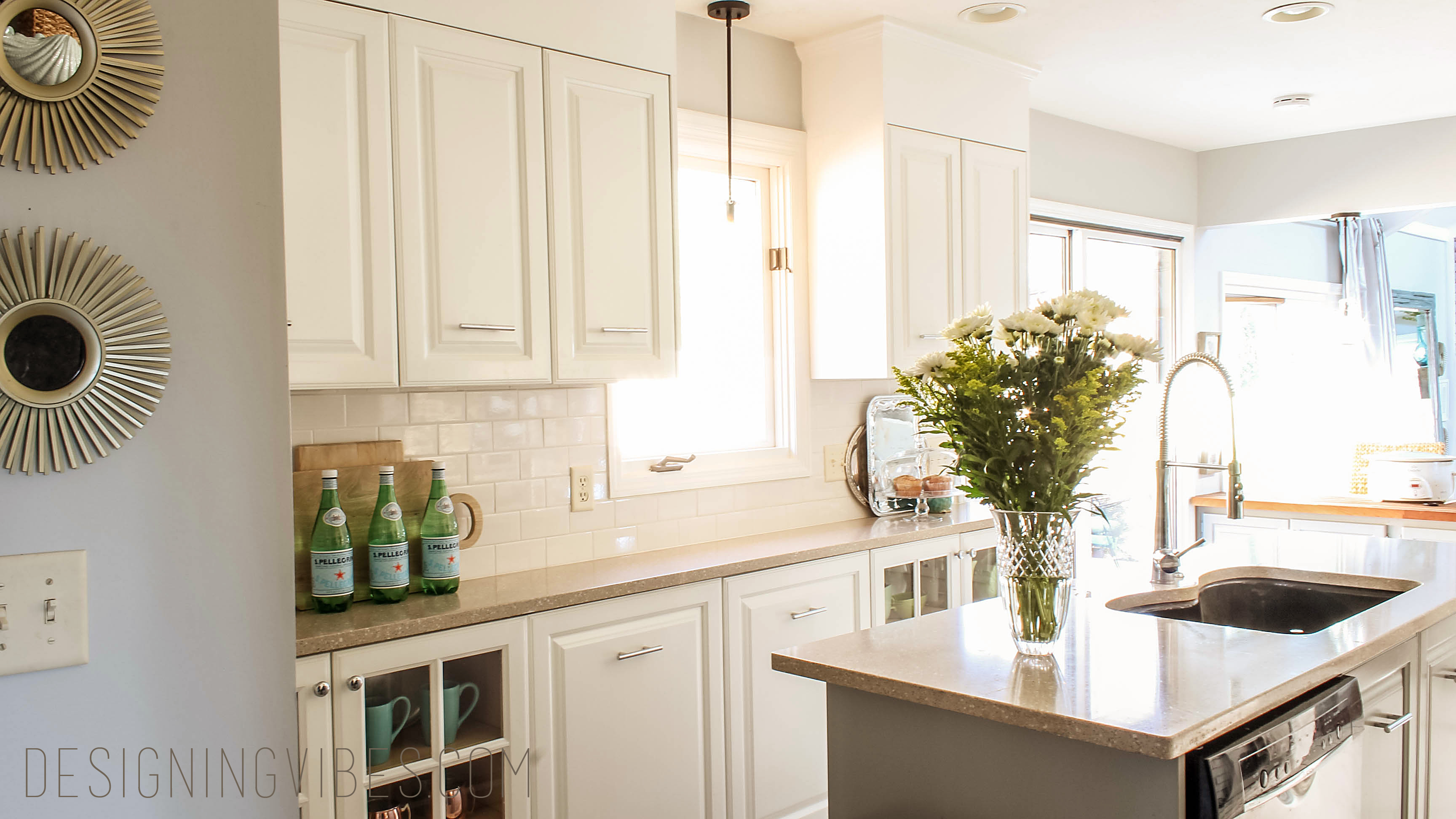 How to Make Kitchen Cabinets Taller - Designing Vibes - Interior ...