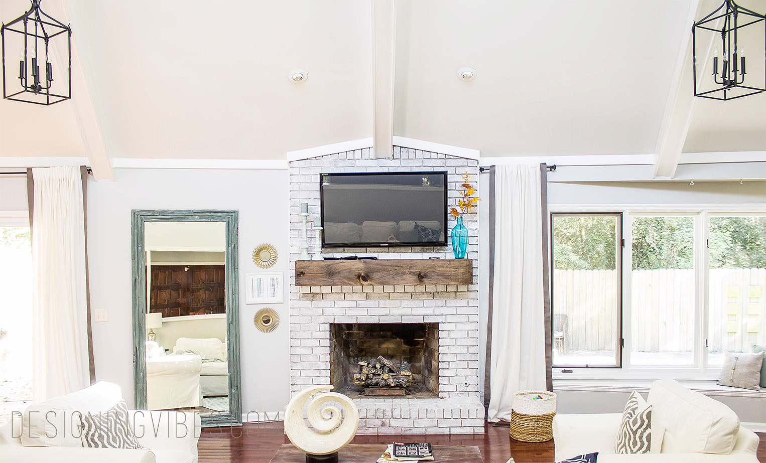 Covering a brick fireplace - Cheap Brick Fireplace Makeover Diy Brick With Covering A Brick Fireplace