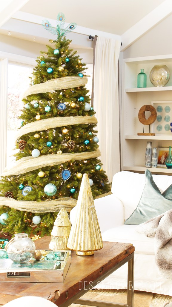 boho modern christmas decor