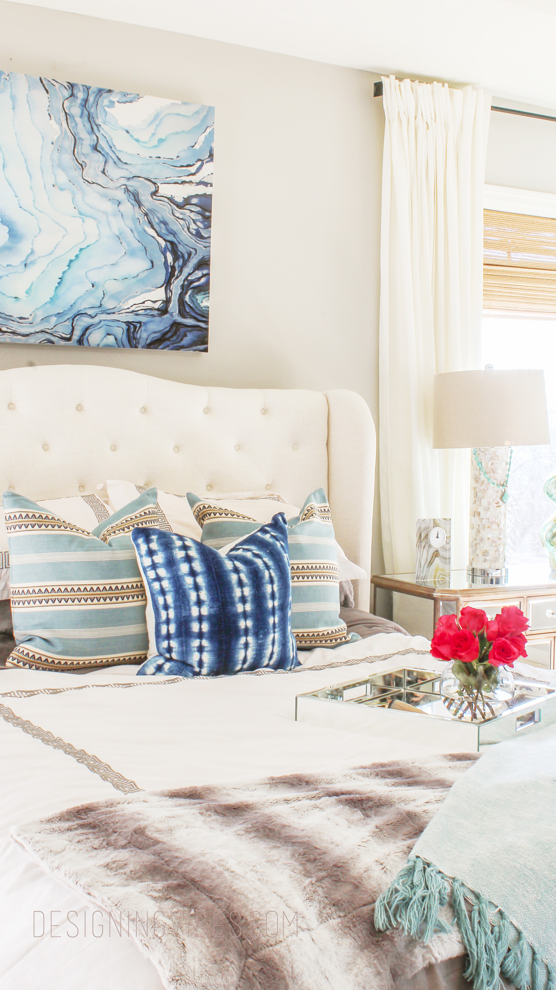 Boho Chic Bedroom Reveal Part 1 - Interior Design on Boho Bedroom  id=93718