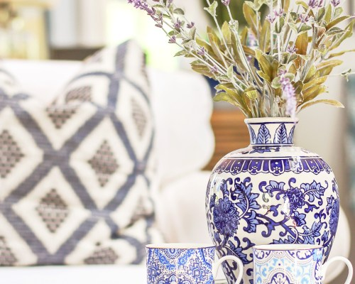 designing vibes spring home tour boho chic decor
