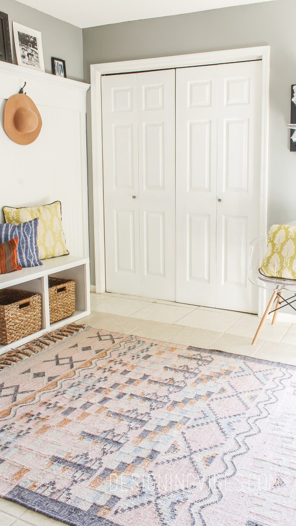 how to get boho kilim rugs on the cheap