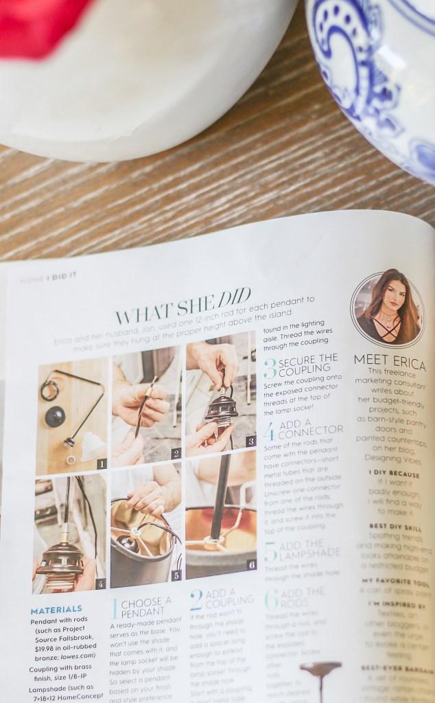 how i got into better homes and gardens magazine