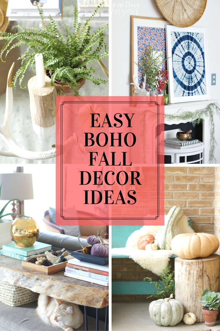 Simple Easy Boho Fall Decor Ideas That Ll Rock Your Socks