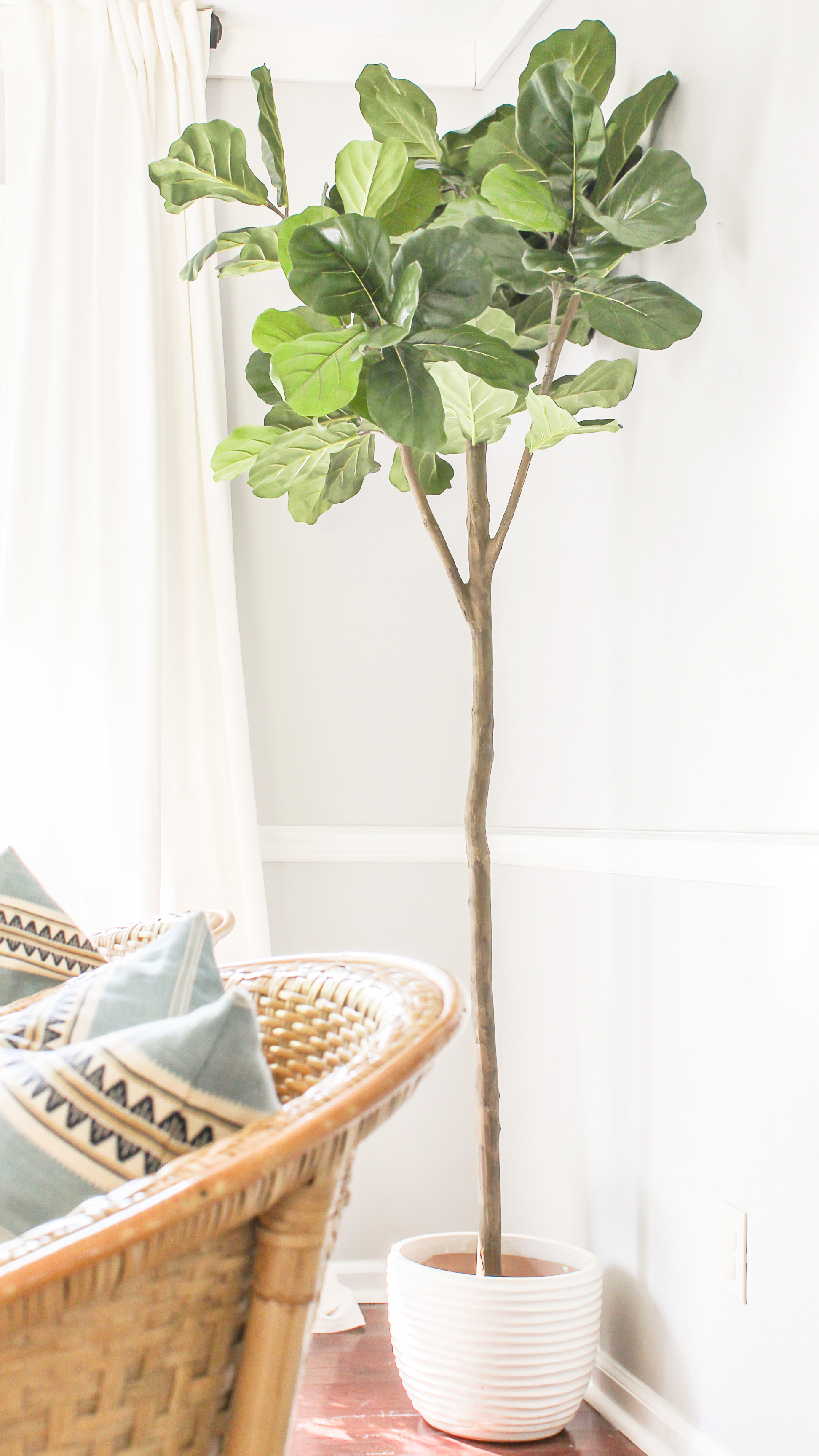 the most realistic artificial fiddle leaf fig - Fiddle Leaf Fig Tree