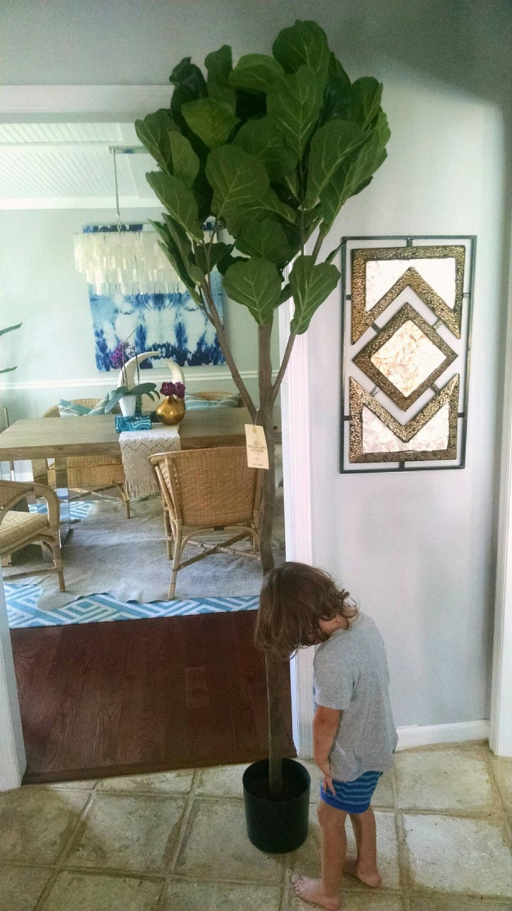 most realistic faux fiddle leaf fig