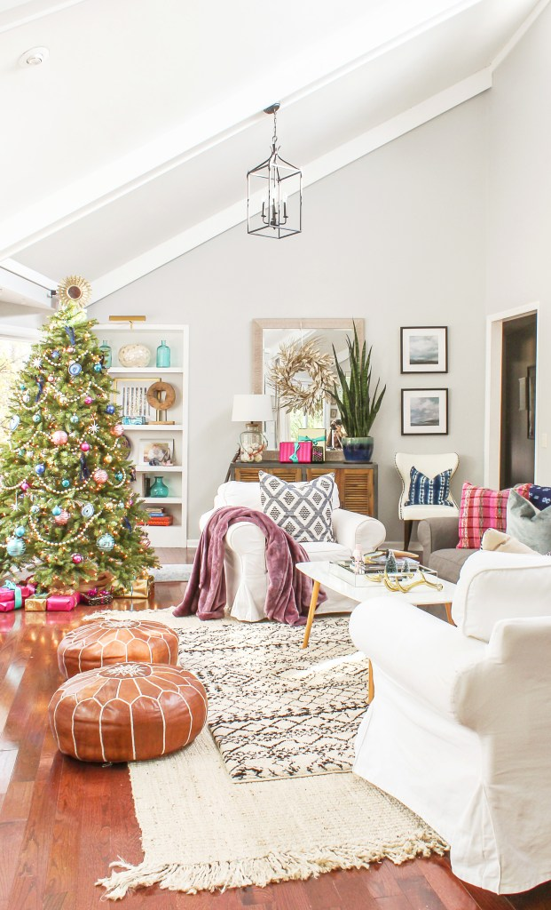 Boho Chic Christmas Home Tour 2017 Part 1 - Modern ... on Modern Boho Decor  id=48596