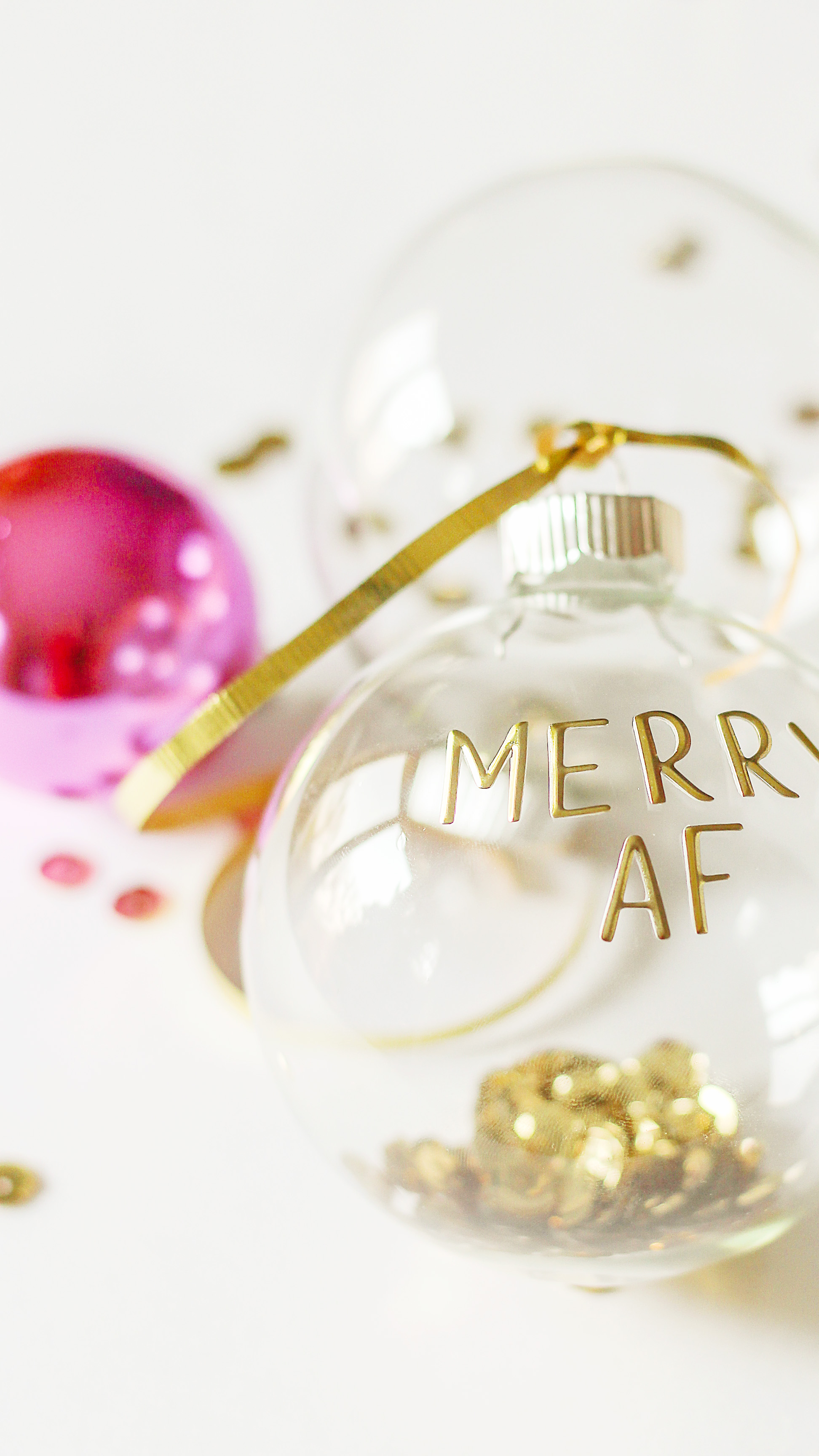Easy Personalized Christmas Ornaments Diy Hostess And Friend Gifts