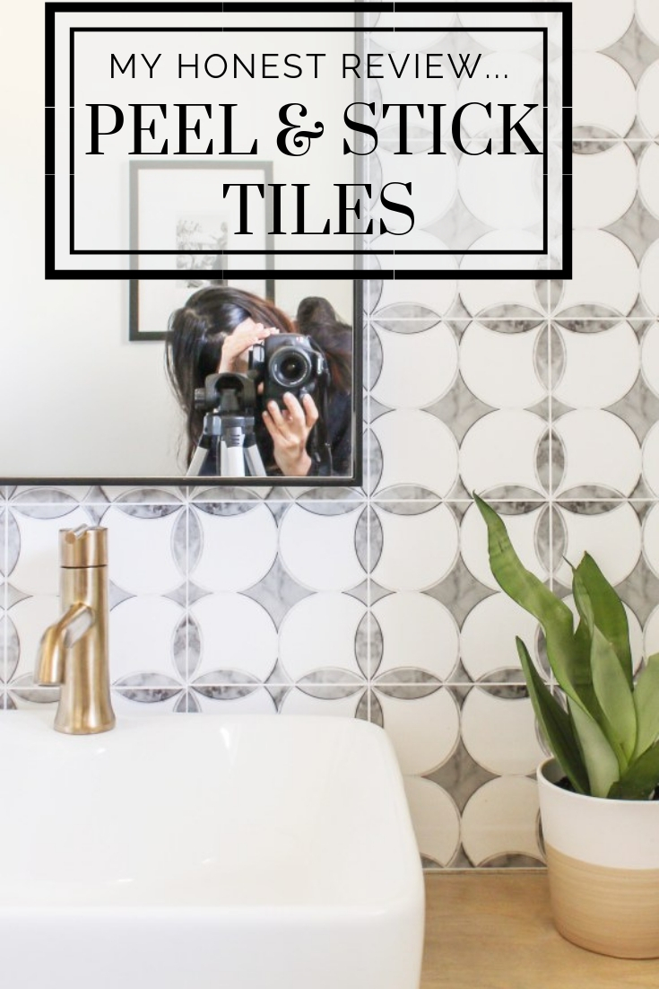 An Honest Review Of My Peel And Stick Tiles One Year Later