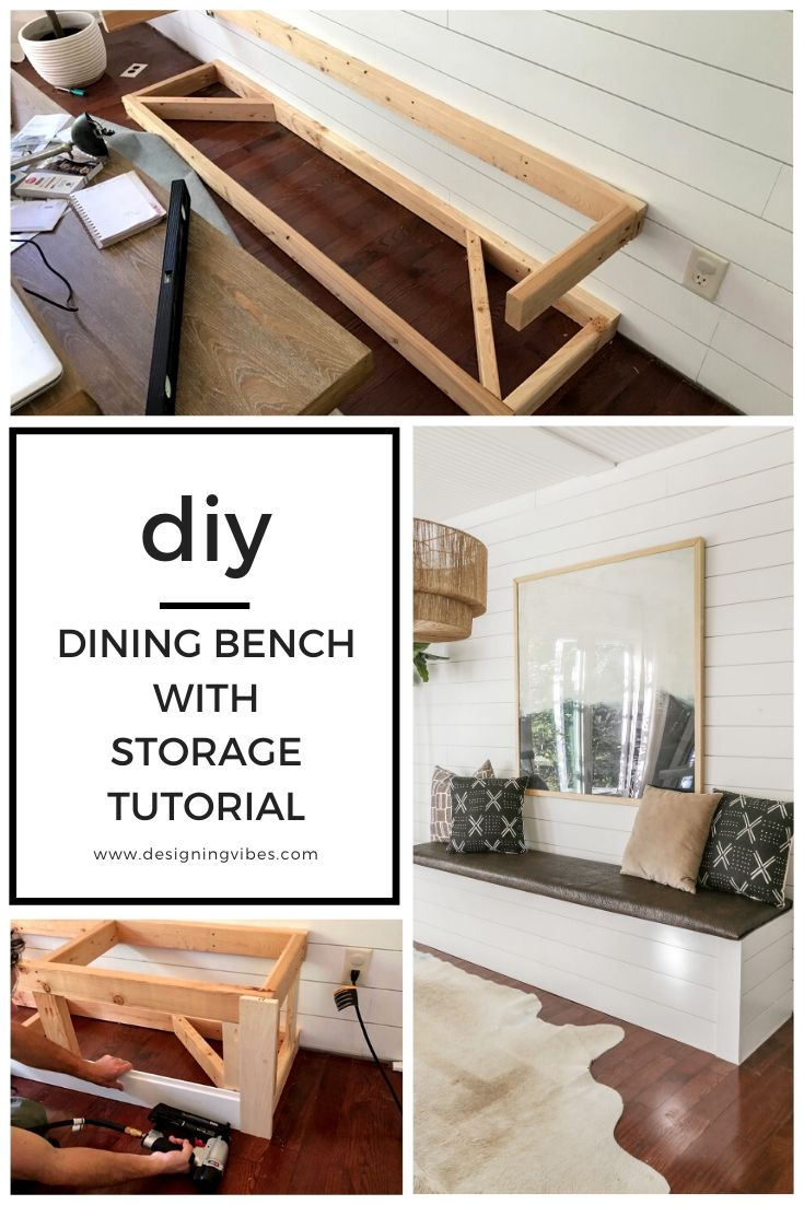 Fine Diy Built In Dining Bench With Storage Breakfast Nook Andrewgaddart Wooden Chair Designs For Living Room Andrewgaddartcom