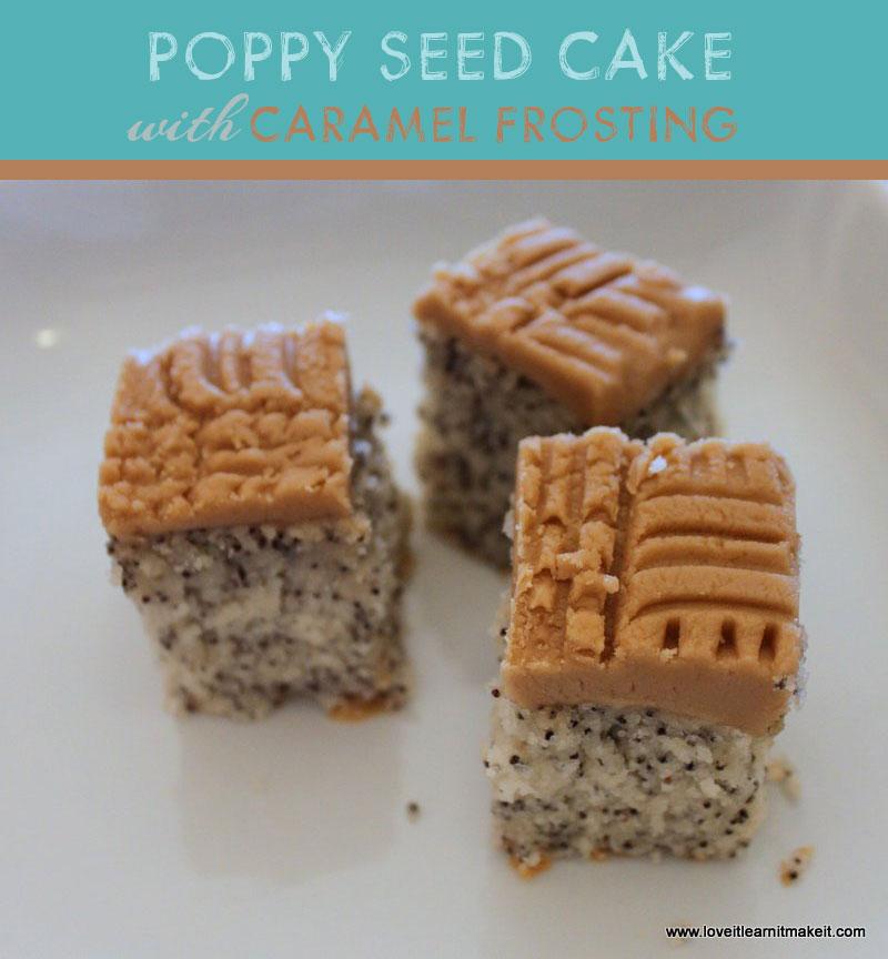 Simply White Poppy Seed Cake