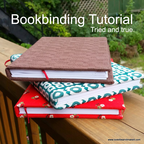 Bookbinding - Make your own sketchbook