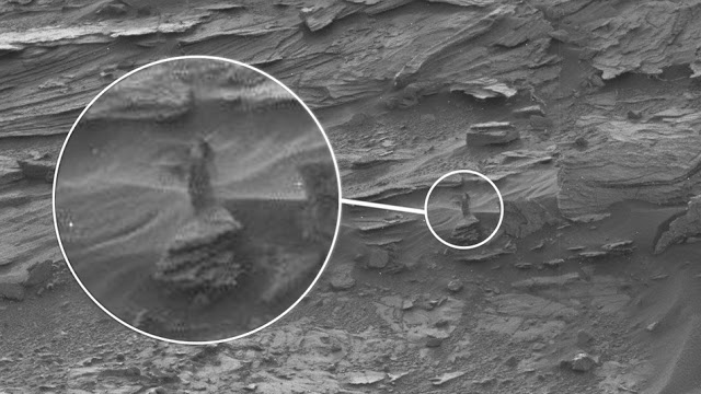 Mystery Woman on Mars