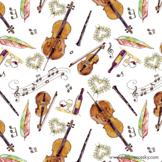 Violin-Cello-Clarinette-leave-notes