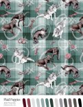 Swatch template Plaid Puppies