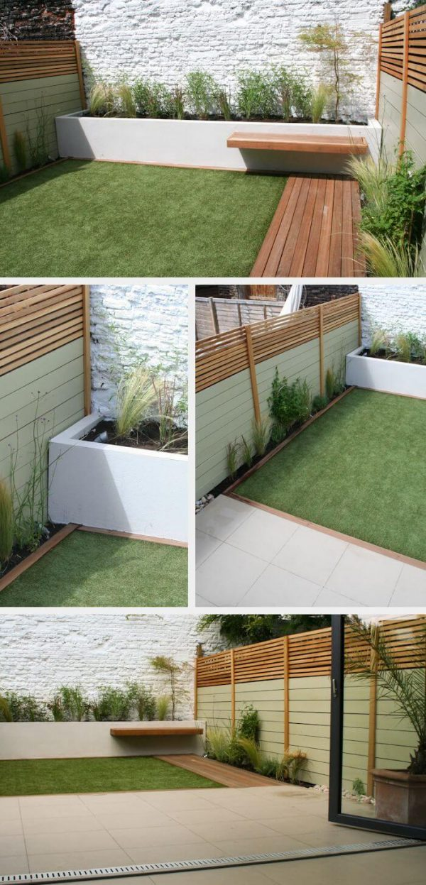 40 Amazing Design Ideas For Small Backyards on Small Outdoor Yard Ideas id=71136