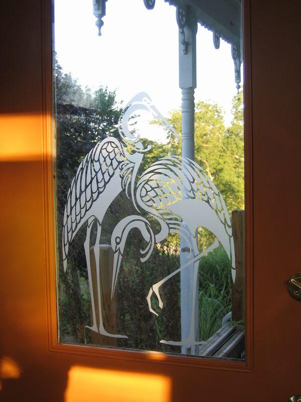 Sandblasting On Glass Design Inspiration Planet Stencil