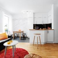 Amenajare interioara reusita in doar 35 mp / Great small apartment design in only 35 sqm