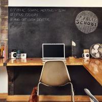 Idei de amenajare a biroului de acasa / Ideas for designing the home office