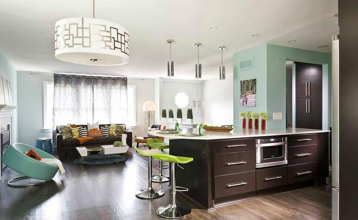 salon z aneksem kuchennym 7