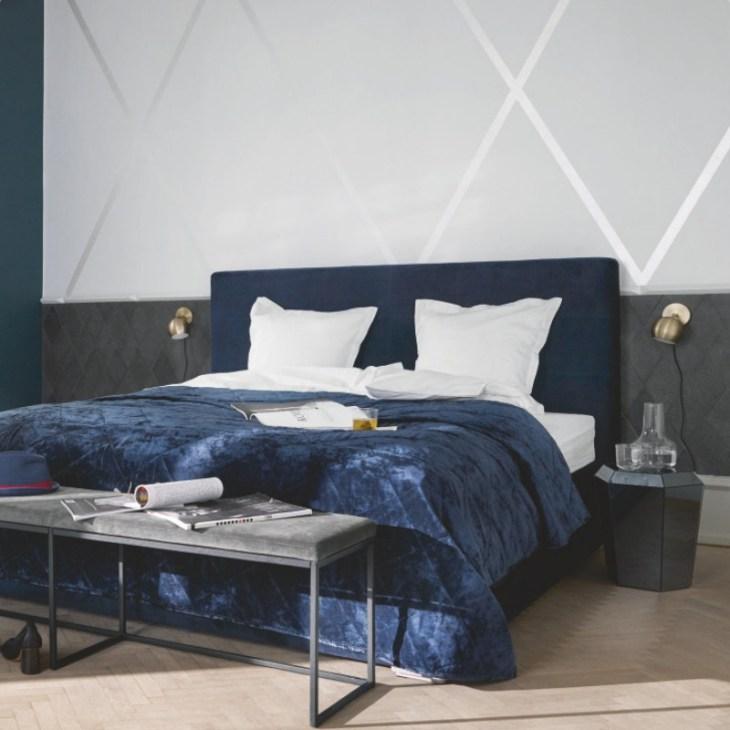 skandynawska sypialnia design