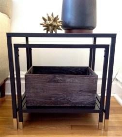 DesignJoyBlog DIY Ikea VITTSJÖ Hacks Nesting Table