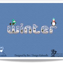 bevs-wintertextview