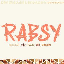 rabsy font