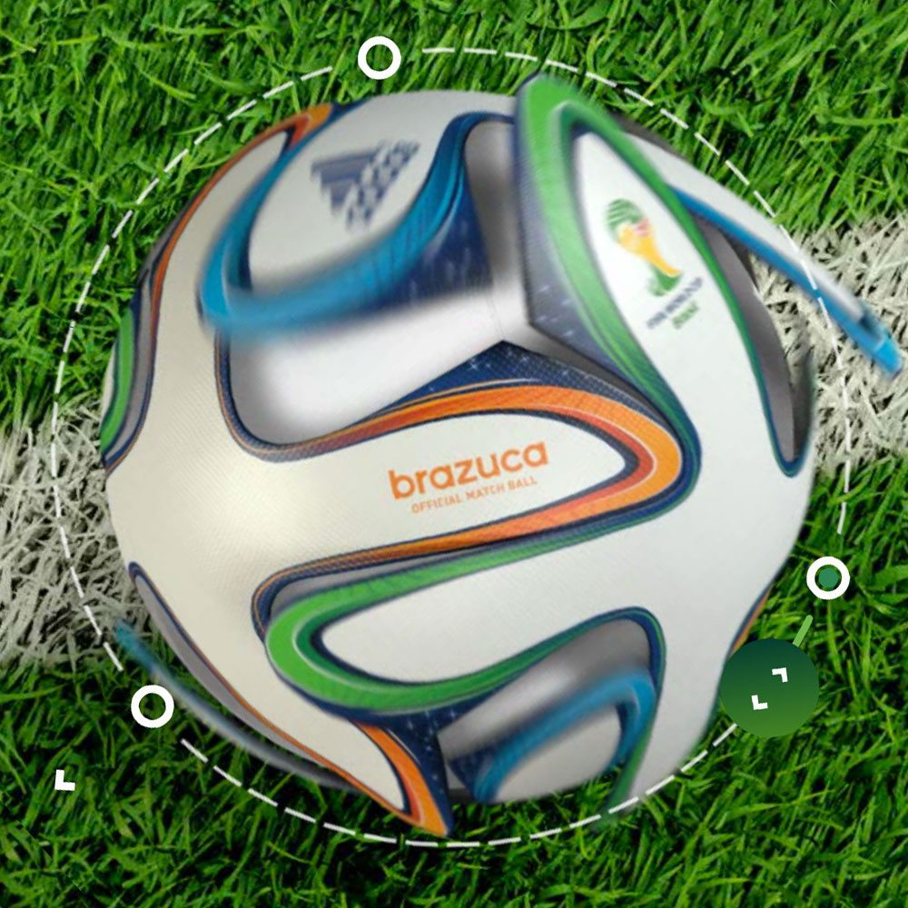 Adidas World Cup Brazuca Official Match Ball Introduction