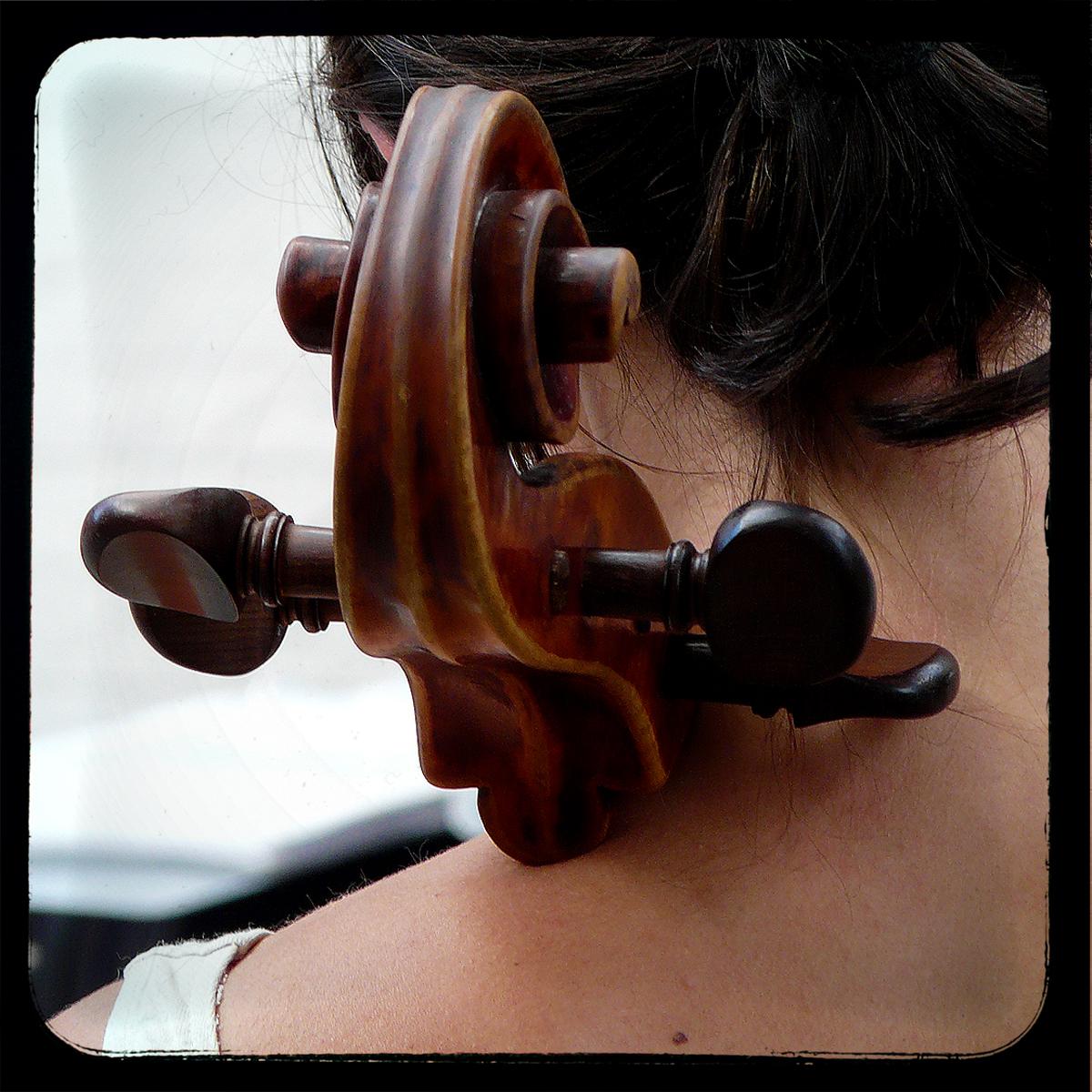 A Cellist in the Street
