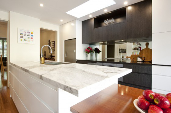 kitchen designs: kitchen benchtops materials options