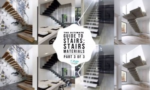 The Ultimate Guide To Stairs Design - Stairs Material - Part 3 of 3 - www.designlibrary.com.au